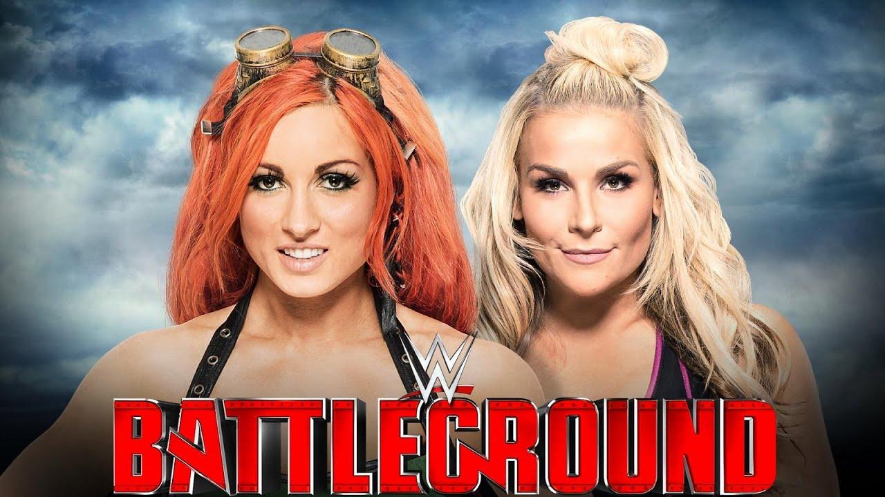 Image result for Natalya vs. Becky Lynch – Battleground