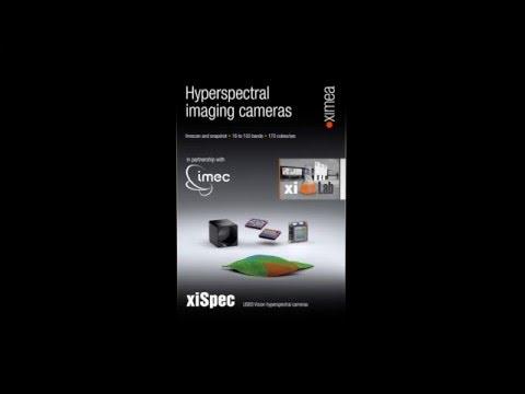 Smallest Hyperspectral cameras based on USB 3.0 platform - xiSpec line