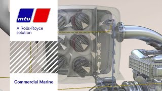 a new scr system for mtu marine diesel gensets