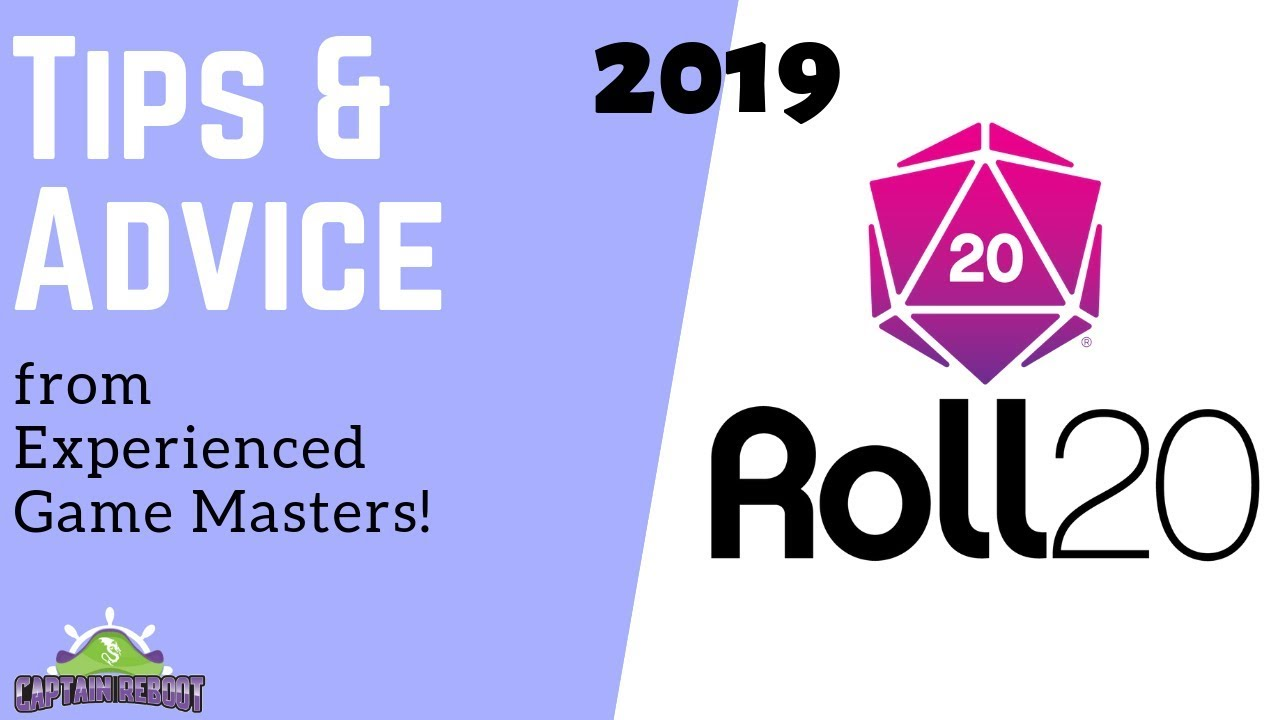 Roll20 Tips & Advice with Experienced Game Masters - 2019