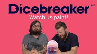 Dicepainter live / Q+A - Come watch us paint!