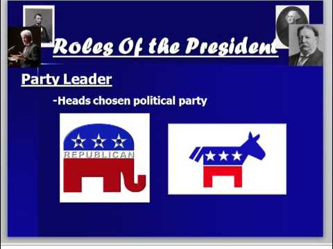 roles of the President video