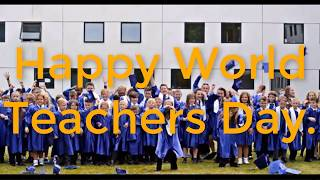 A science project - Happy World Teachers Day! [MUSIC VIDEO]