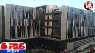 Amazon India Opens Its Biggest Centre In Hyderabad | Teenmaar News  Telugu News