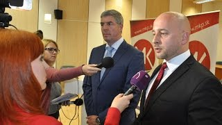 Az MKP és a Most-Híd tárgyalása a megyei választásokról