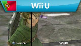 The Legend of Zelda: Twilight Princess HD - Comparação entre GameCube e Wii U