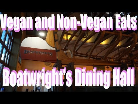 Boatwright's Dining Hall - Vegan & non-Vegan - Disney's Port Orleans Riverside  - Walt Disney World
