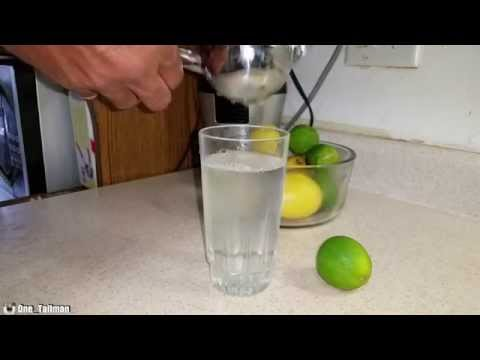 Lemon And Lime Water In The Morning
