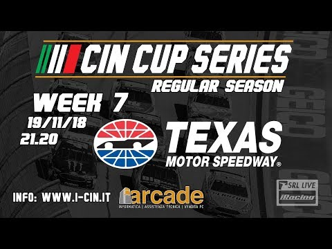 iRacing | Campionato Italiano Nascar 2018-2019 - Week 6 - Texas Motor Speedway [LIVE]