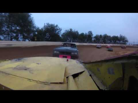 Heat race win at hill valley 8-17-13