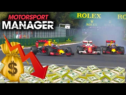 GOING INTO DEBT AFTER HQ UPGRADES | Motorsport Manager PC