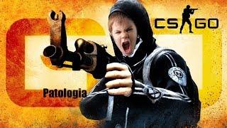 Patologiczne dziecko gra w CS GO