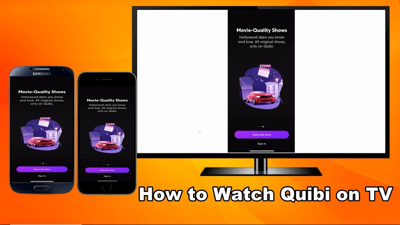 How to Watch Quibi on TV