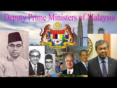 Deputy Prime Ministers of Malaysia