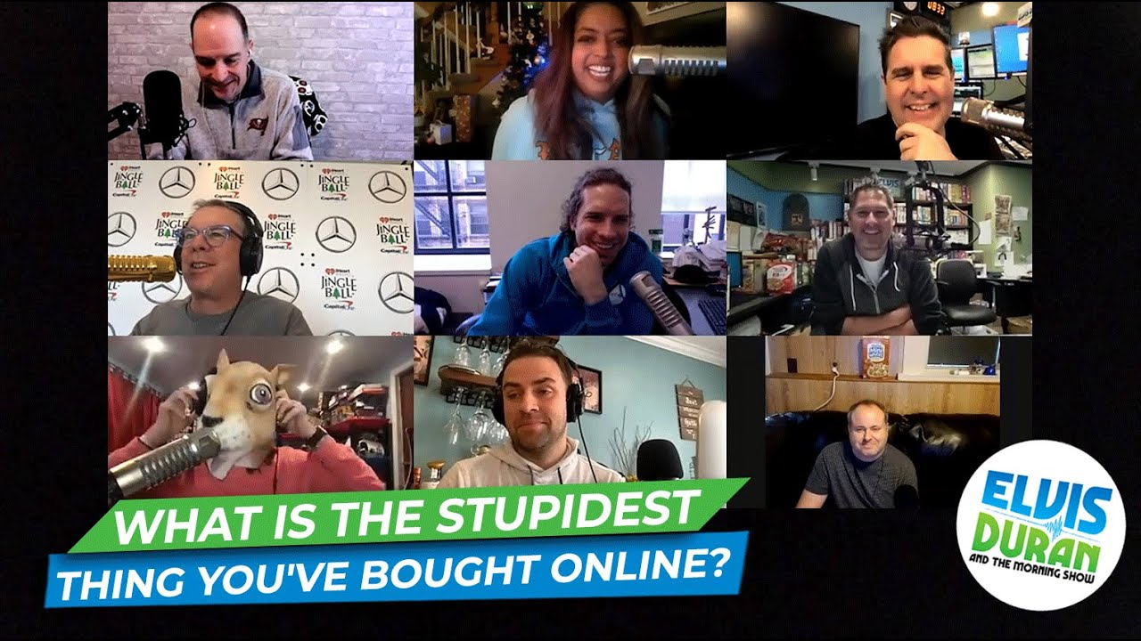 What Is The Stupidest Thing You've Bought Online?   15 Minute Morning Show