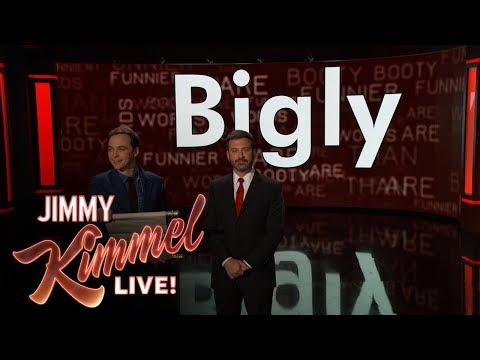 Jimmy Kimmel & Jim Parsons Present the Funniest Words