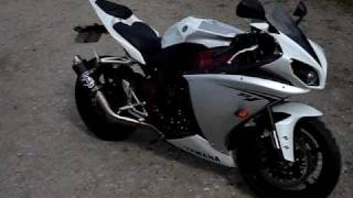 2009 Yamaha R1 Moto GP Pipe / can