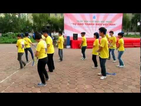 Hướng dẫn Trống cơm - Dân vũ quốc tế - YouTube