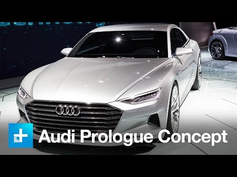 Audi Prologue Concept   First Look