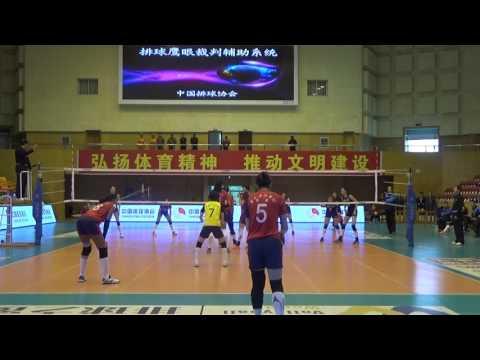 Yunnan – Henan 3-1 (part 1) - Giselle Silva De la Caridad
