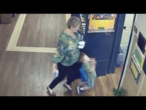 Teacher knocks over child, gets arrested