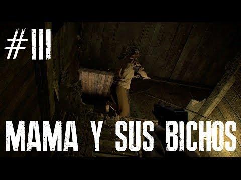 "RESIDENT EVIL VII +18  GAMEPLAY A TODA OSTIA  En castellano  3 ""Mama y sus bichos"""