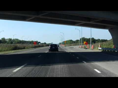 Lanaudière Expressway (Autoroute 25 Exits 34 to 25) southbound