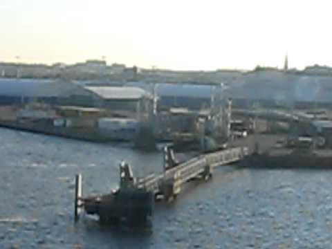 7) Farhad in Turku, Finland (The ship from Stockholm to Turku- Viking Line-Morning)