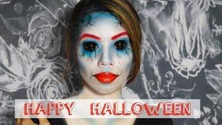 Halloween Make up I Blue Bride