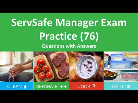 ServSafe Manager  Practice Test(76 Questions and Answers)