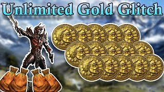 UNLIMITED GOLD GLITCH SKYRIM SPECIAL EDITION PS4! (newest patch)