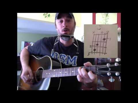 K'naan's Wavin' Flag -- Guitar and Harmonica Lesson