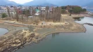 4K | Drone in Lake Kawaguchiko | BAE - DENTSU TEC thumbnail