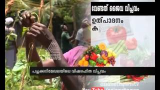 Organic farming in Kerala leads to increasing Vegetable production