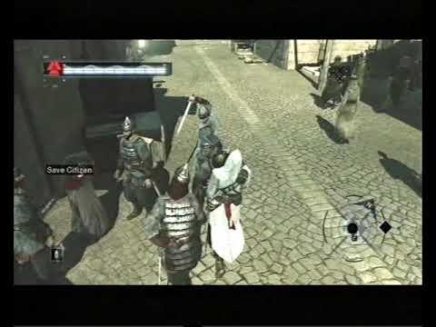Assassin's Creed, Career 282, Jerusalem: Middle District, Save Citizen 6