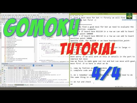 Android Tutorial || Make a GOMOKU game in Android Studio - Part 4: Find best move for computer