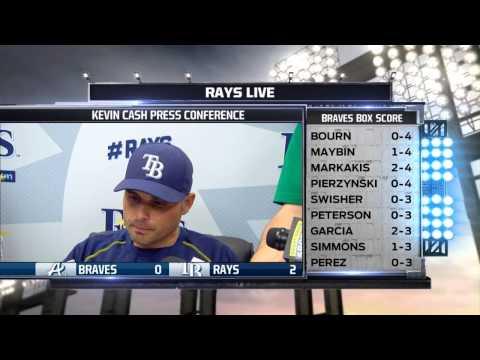 Tampa Bay Rays manager Kevin Cash praises Erasmo Ramirez's start
