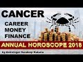 CANCER 2018 Annual Horoscope Astrology Career, Finance and MONEY