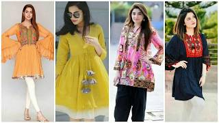 Download Top Amazing  beautiful short shirt and kurti for girls