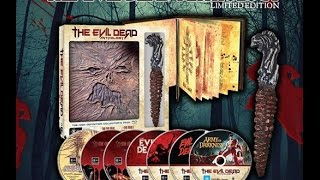 Unboxing :The Evil Dead Anthology Collector's Bluray Set