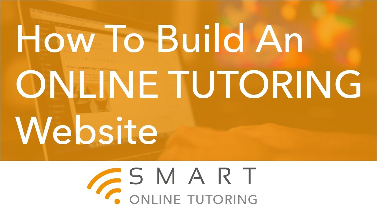 How To Build An Online Tutoring Website - YouTube