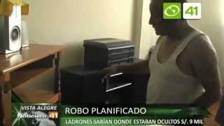 Roban en casa de Vista Alegre - Trujillo