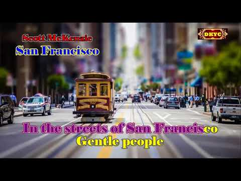 San Francisco - Scott McKenzie Karaoke