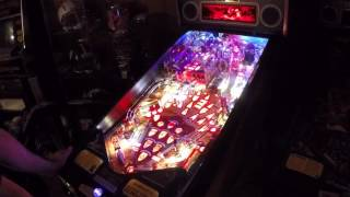 Game of Thrones LE pinball gameplay (1.01 and mushy left flipper)
