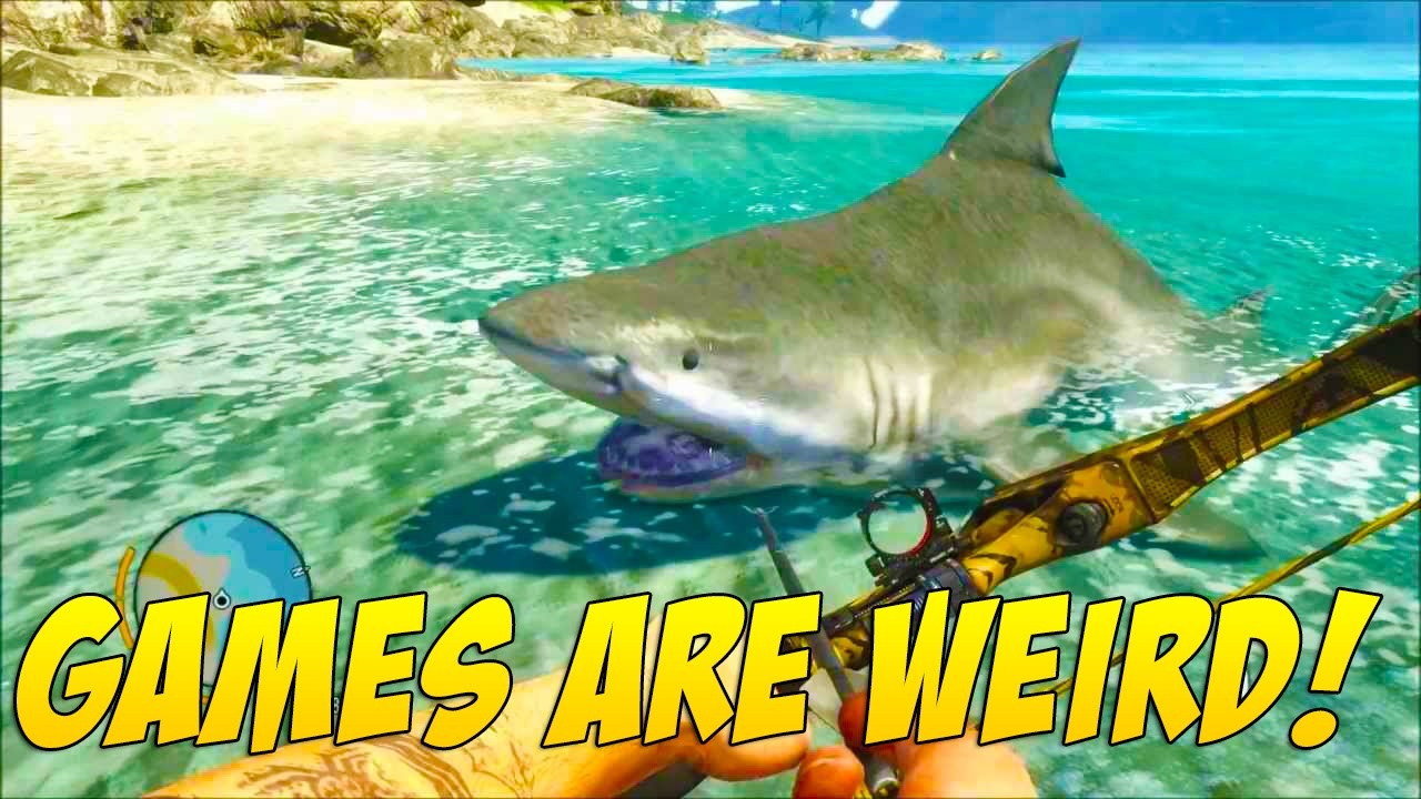 derp shark games are weird