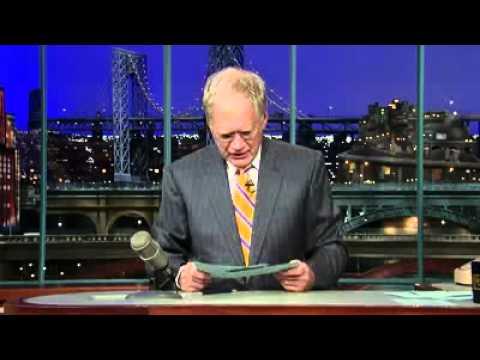 John Isner on the late show