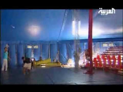 Reportage Laith Bazari Al Arabiya News Channel / Rabat Cirque Children