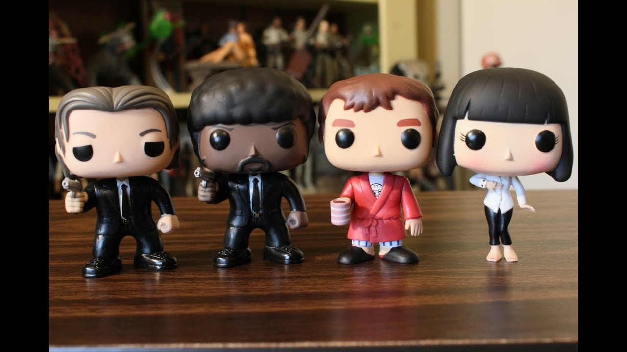 Pulp Fiction Funko Pop Review Jules Vincent Vega Mia