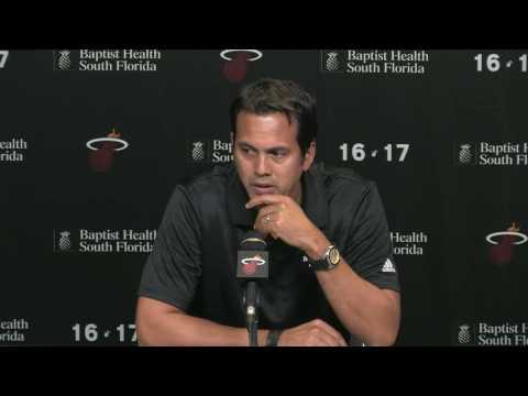 Erik Spoelstra says Miami Heat plan to tap into Goran Dragic's aggresiveness