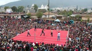 Viernes Santo, un ritual de puñetazos en aldea maya de Guatemala